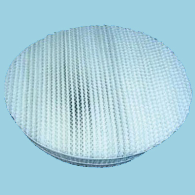 Plastic screen corrugated packing