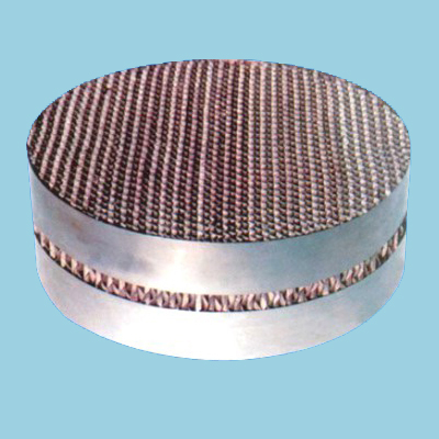 metal perforated plate corrugated packing