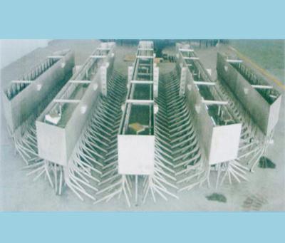 高硅不锈钢制管槽式分酸器